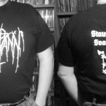 Likvann - Staut Norsk Svartmetall t-shirt