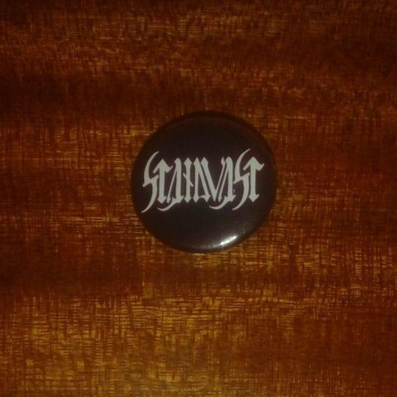 Standvast button